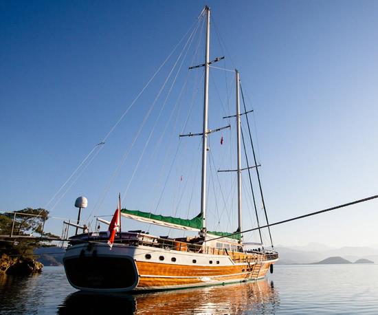 Czarter łodzi typu gulet w Chorwacji